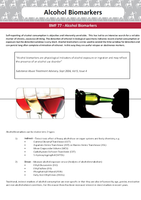 BMF 77- Alcohol Biomarkers