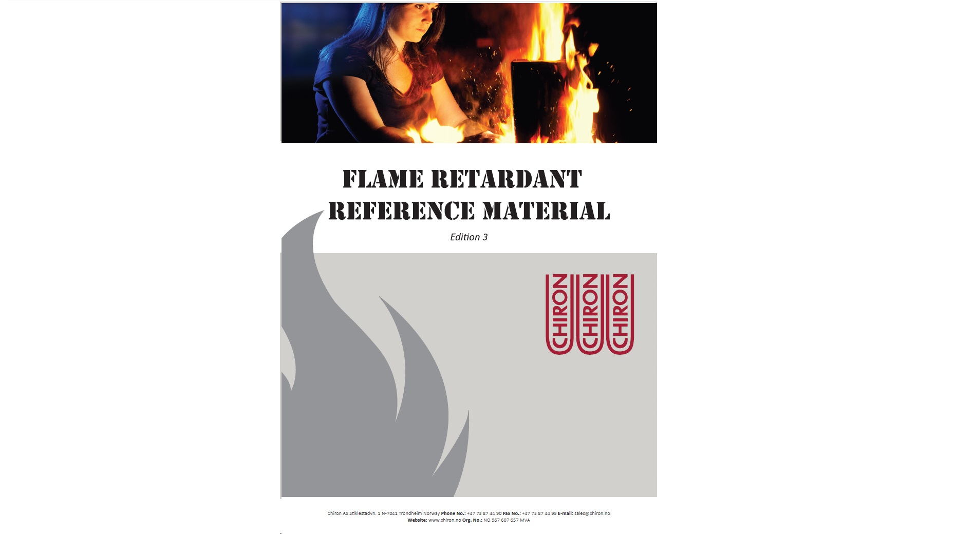 Flame retardant reference material, Edition 3